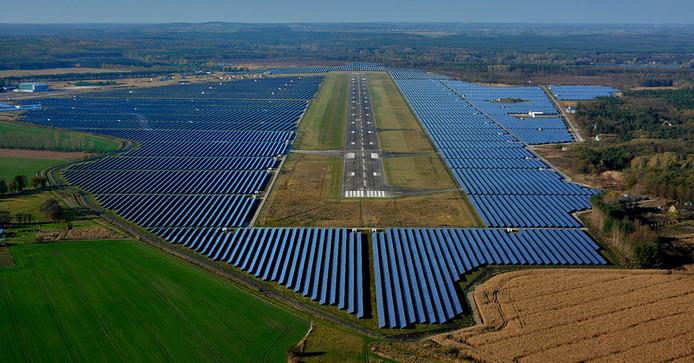 Größter Solarpark Europas, Neuhardenberg, Enfo AG