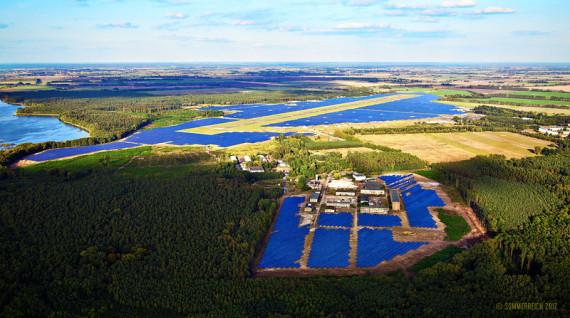 Oderland Energie eG, Solarpark Neuhardenberg, Enfo Energie GmbH